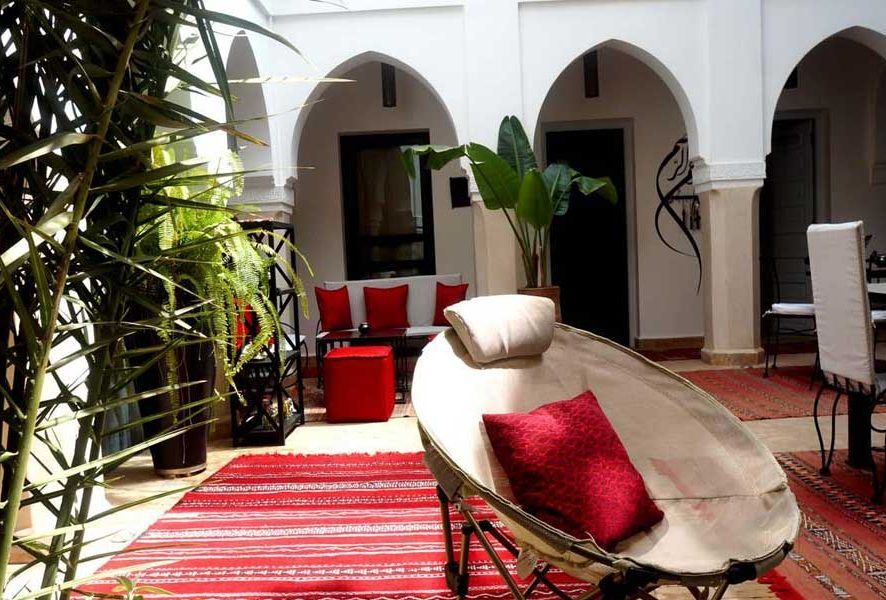 Riad rental, Marrakech